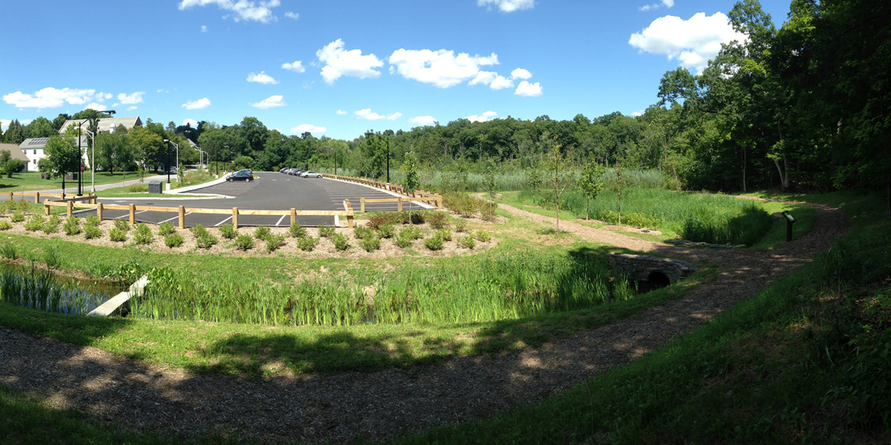 Bard College Green Infrastructure Grant project